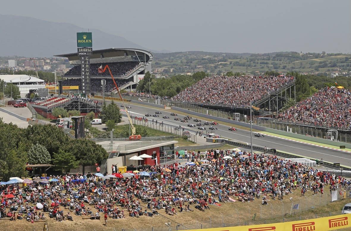 Formule 1 reis Barcelona