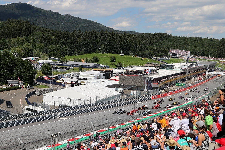 Oostenrijk Formule 1 aanbieding